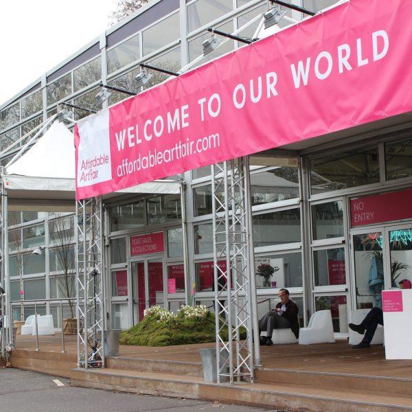 Affordable Art Fair Battersea Spring Entrance