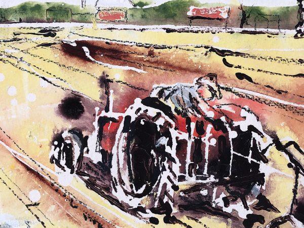 The Norfolk farmer - detail
