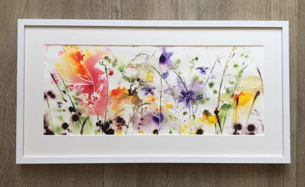 Where flowers bloom - Framed