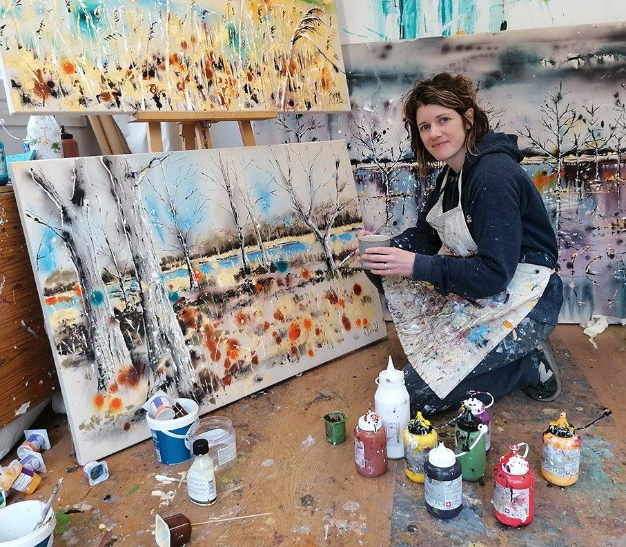 Artist Rachael Dalzell