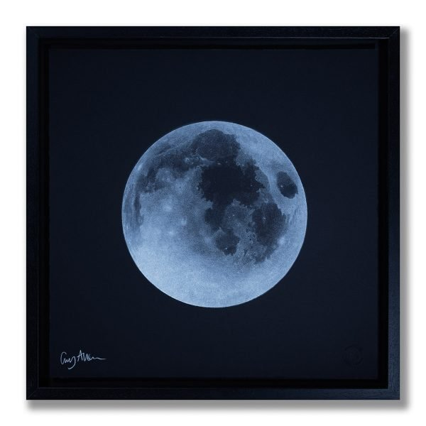 Full Moon - Framed