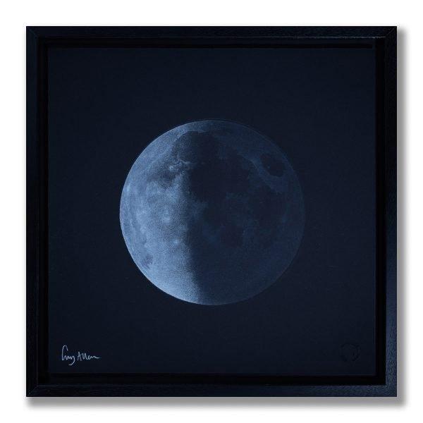 Waning Quarter Moon - Framed