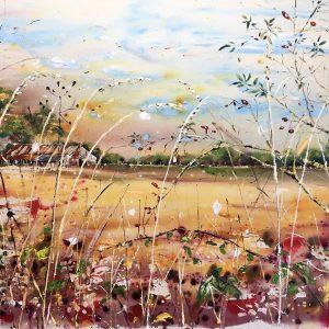 Across the fields in Autumn
