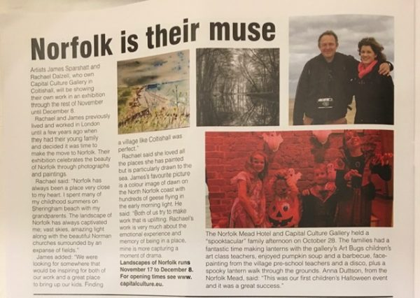 Sparshatt and Dalzell featured Norfolk Magazine