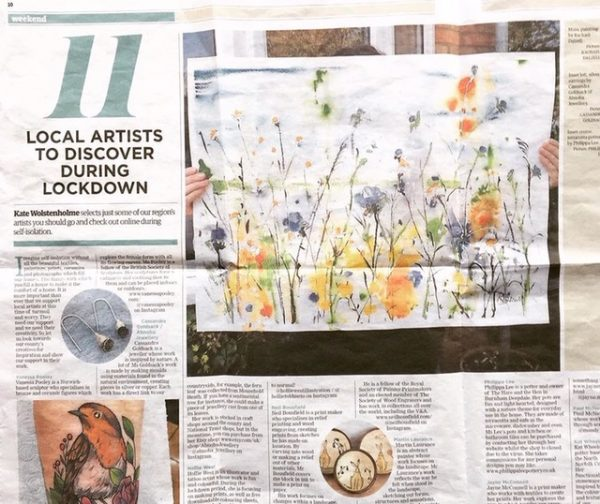 Rachael Dalzell featured in the EDP 2020