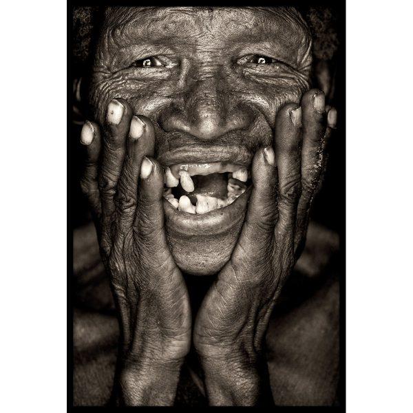 San man. Portrait by John Kenny