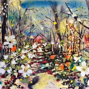 Springtime in the hedgerows by Rachael Dalzell