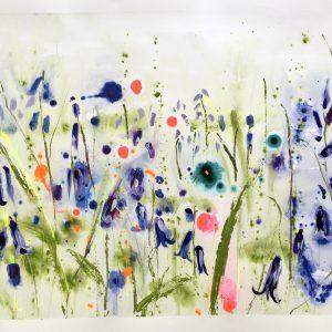 Bluebells I by Rachael Dalzell