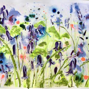 Bluebell III by Rachael Dalzell
