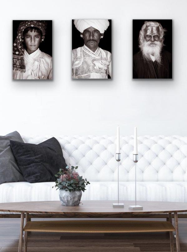 Kashi set with three images