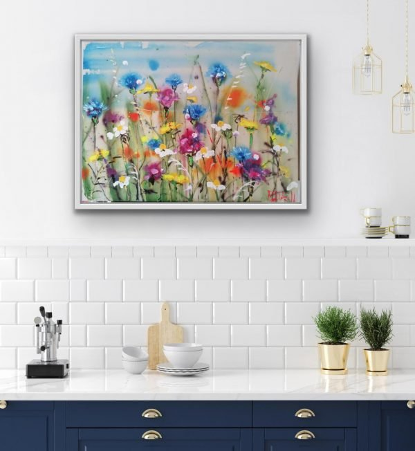 Daisies and Cornflowers by Rachael Dalzell