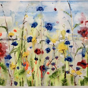 Poppies and cornflowers by Rachael Dalzell