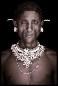 Lemarleni. A portrait photograph by John Kenny of a Samburu man from Kenya