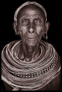 Lerrin. A portrait photograph by John Kenny of a Rendille man from Kenya