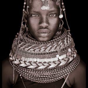 Nawoi. A portrait photograph by John Kenny of a Turkana woman from Kenya