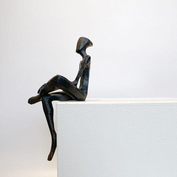 Bing - Bronze sculpture by Nando Kallweit